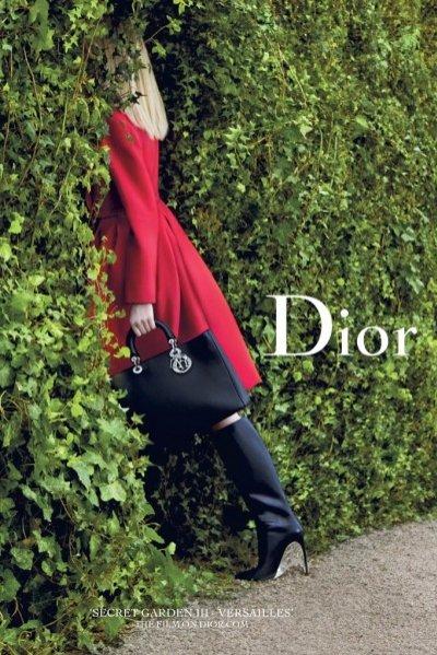1. Dior Secret Garden - kampania 2014