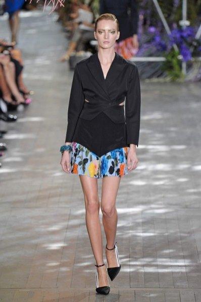 1. Christian Dior - kolekcja wiosna lato 2014