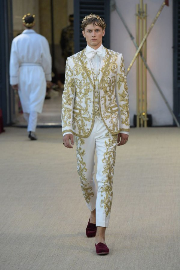Jan Dratwicki: Dolce & Gabbana, Alta Sartoria 2018