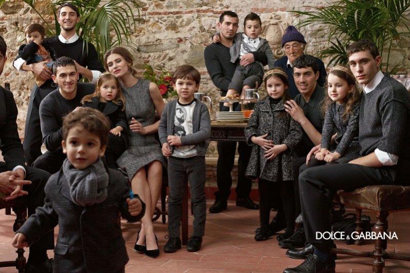 Dolce & Gabbana kids - kampania jesień zima 2013/2014