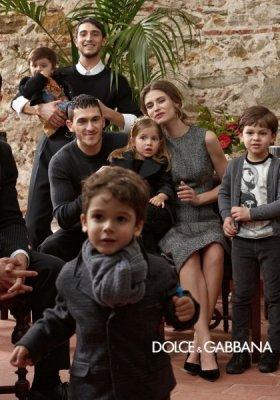 DOLCE & GABBANA KIDS KAMPANIA JESIEŃ ZIMA 2013/14