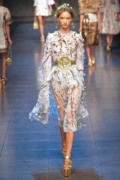 1 Dolce & Gabbana - kolekcja wiosna lato 2014