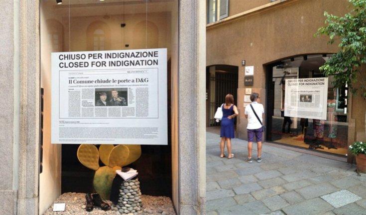 Dolce & Gabbana w proteście zamykają wszystkie salony w Mediolanie
