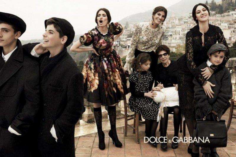 Kampania Dolce&Gabbana jesień zima 2012/13