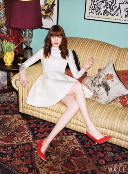 londyński dom Florence Welch w Vogue US