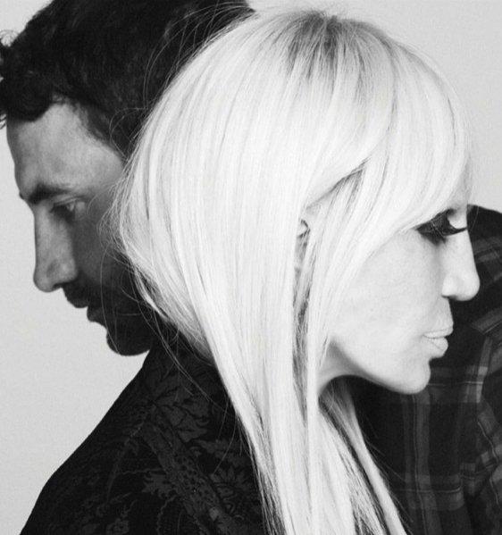 Donatella Versace w najnowszej kampanii marki Givenchy