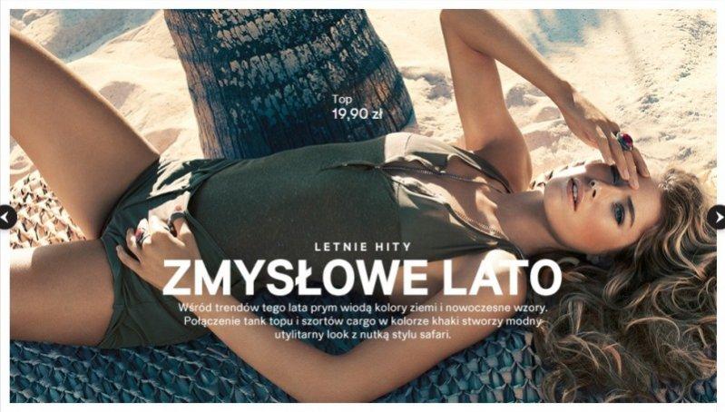 Doutzen Kroes w kampanii H&M lato 2013