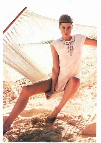 Doutzen Kroes dla H&M Magazine lato 2013