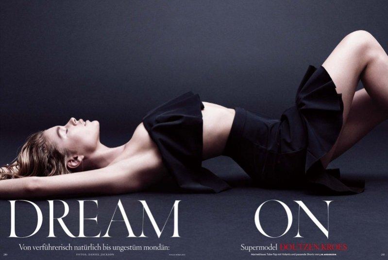 Doutzen Kroes w zmysłowej sesji dla Vogue Germany