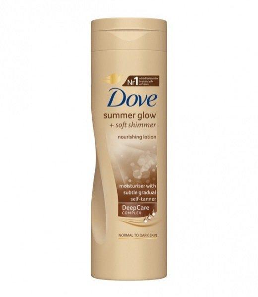 balsam brązujący do ciała Dove Summer Glow + Soft Shimmer - 250 ml 20 PLN
