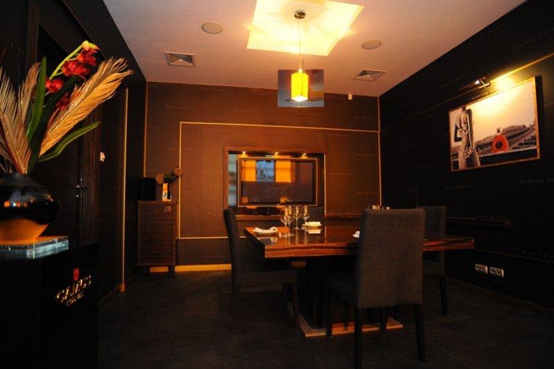 Wnętrze restauracji Lemongrass