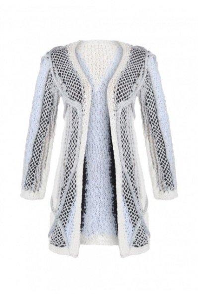 1. rozpinany sweter DUDZIŃSKA, 1015 zł