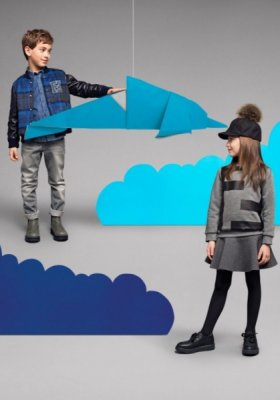 FENDI KIDS - LOOKBOOK JESIEŃ ZIMA 2014/2015
