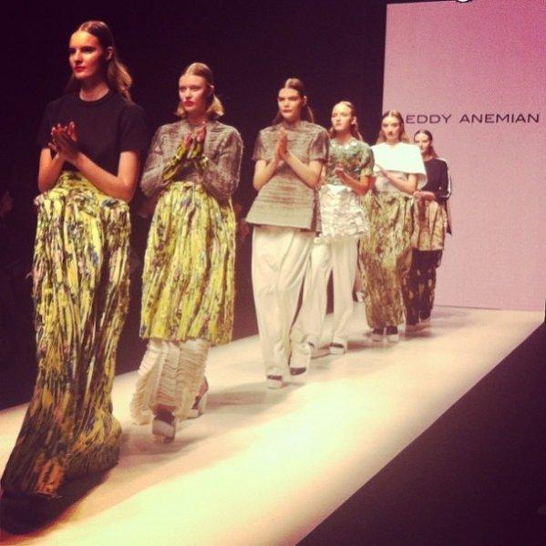 1. Eddy Anemian - zwycięzca H&M Design Award 2014
