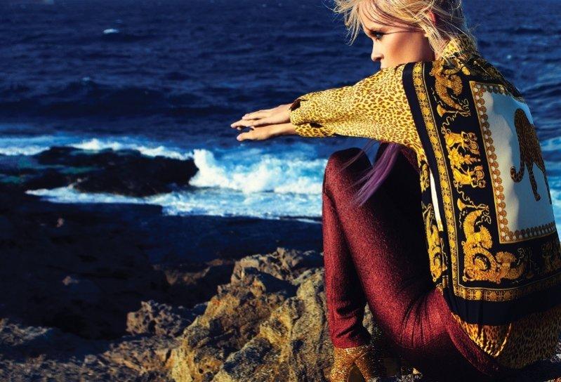 Zosia Promińska w sesji dla Elle Turkey