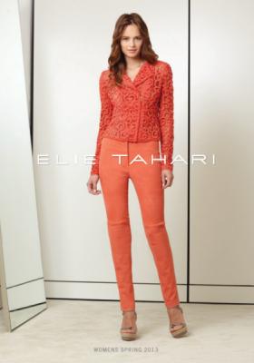 ELIE TAHARI LOOKBOOK WIOSNA LATO 2013