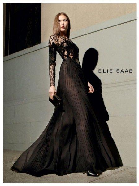 Karlie Kloss w kampanii Elie Saab jesień zima 2012/13