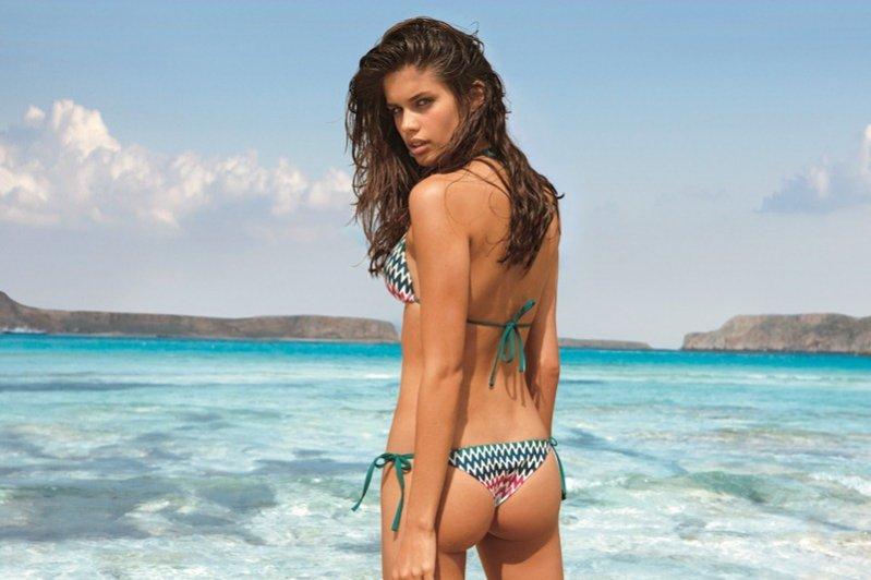 kostiumy kąpielowe Calzedonia w kampanii lato 2012