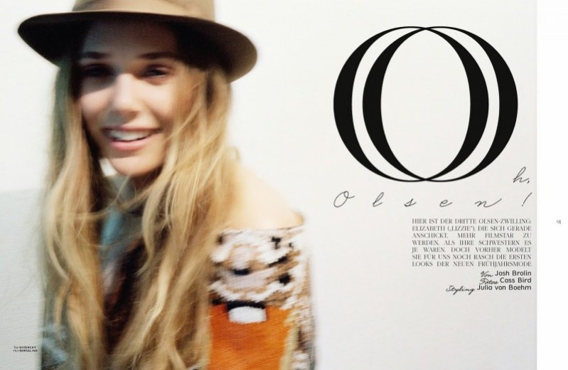 Elizabeth Olsen dla grudniowego wydania Interview Germany