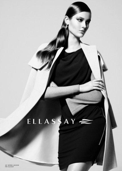 Monika Jac Jagaciak w kampanii Ellassay jesień zima 2012/13