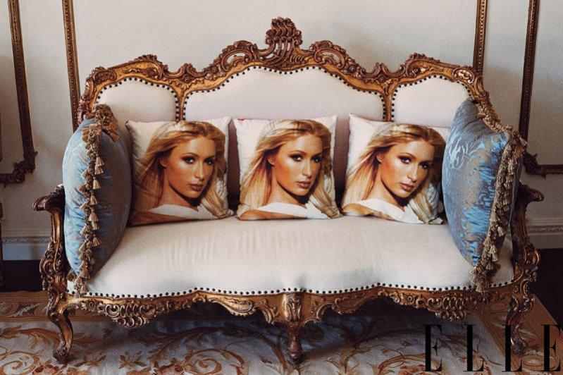 Paris Hilton w amerykańskim Elle w obiektywie Sophii Coppoli