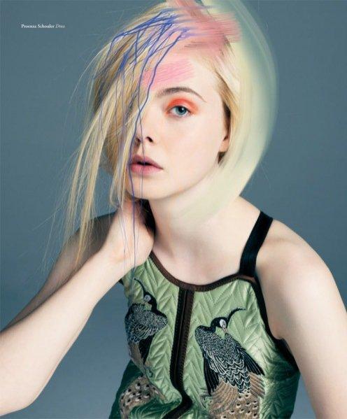 Elle Fanning w surrealistycznej sesji dla Bullet Magazine