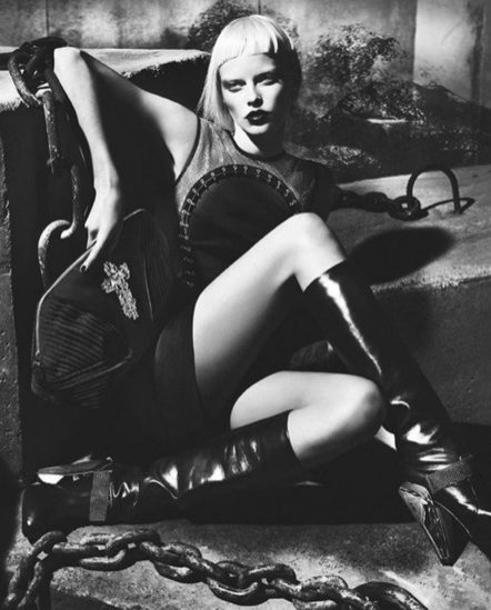 kampania Versace jesień 2012