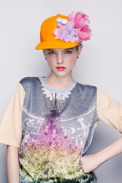 Lady Blossom - kolekcja DECOLOVE wiosna lato 2013