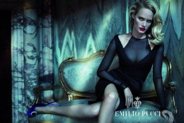 Amber Valletta w kampanii Emilio Pucci na sezon jesień zima 2012/13