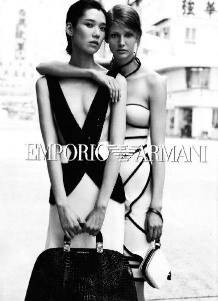Emporio Armani - kampania reklamowa na sezon wiosna lato 2012