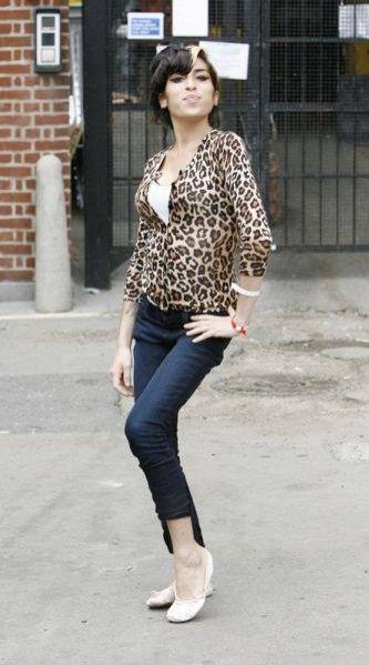 Piosenkarka Amy Winehouse