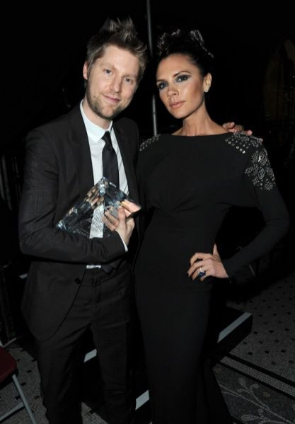 Christopher Bailey i Victoria Beckham