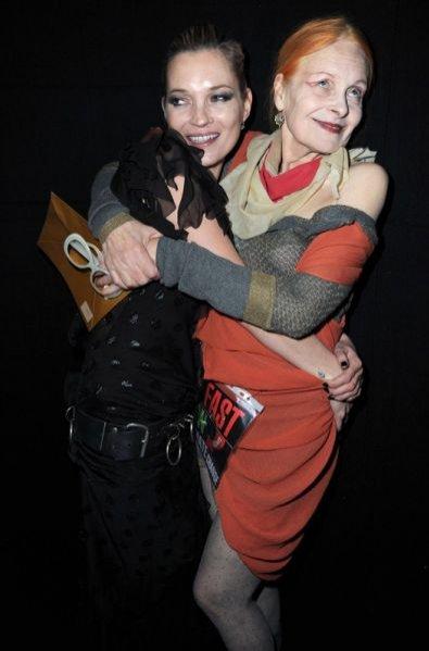 Kate Moss i Vivienne Westwood