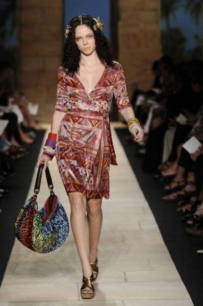 Pokaz kolekcji Diane Von Furstenberg wiosna lato 2010
