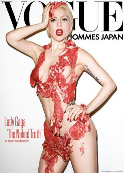 Słynna okładka Vogue Homme Japan z Lady Gagą