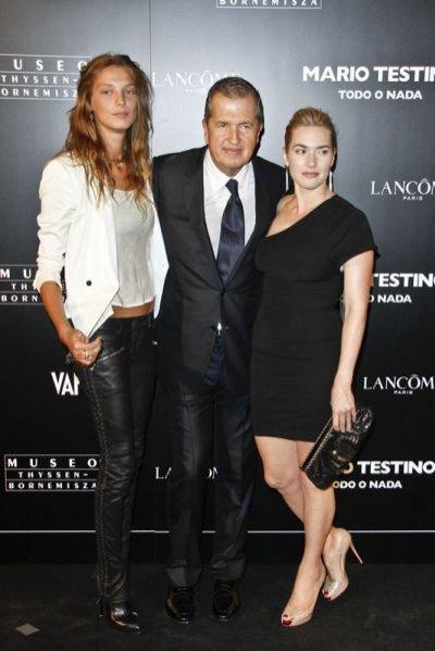 Daria Werbowy, Mario Testino, Kate Winslet