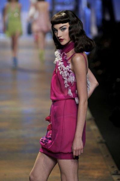 pokaz Dior na sezon wiosna-lato 2011