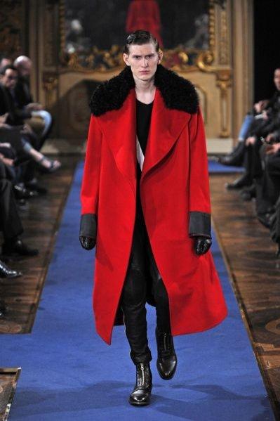 Pokaz męskiej kolekcji Alexander McQueen jesień zima 2011