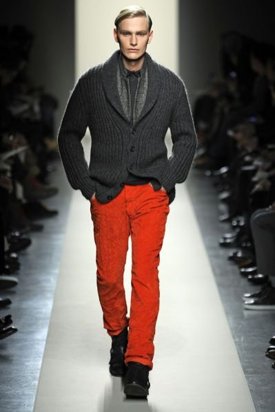 Trendy jesień-zima 2011-12 - pokaz męskiej kolekcji Bottega Veneta