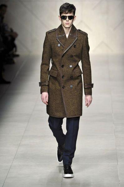 Trendy jesień-zima 2011/12 - pokaz męskiej kolekcji Burberry Prorsum