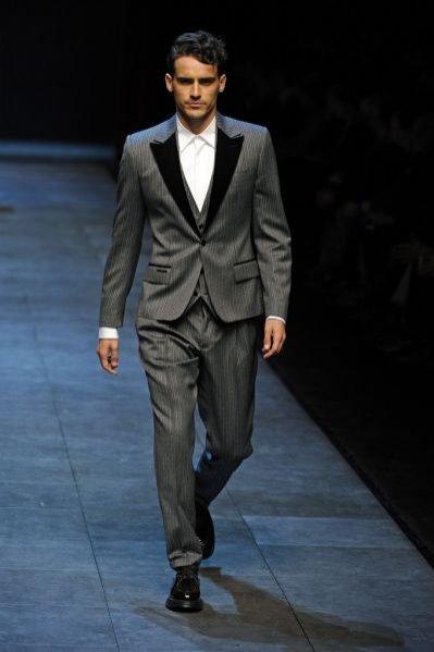 Pokaz męskiej kolekcji Dolce&Gabbana jesień zima 2011
