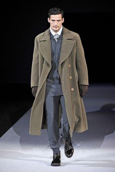 Pokaz męskiej kolekcji Giorgio Armani AW 2011/12