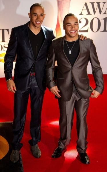 Lewis Hamilton i Nicholas Hamilton