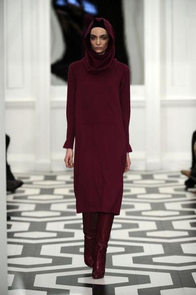 Pokaz kolekcji Victoria Beckham jesień zima 2011