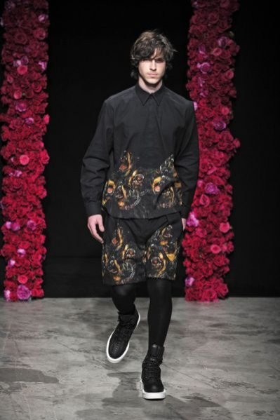 Pokaz męskiej kolekcji Givenchy jesień zima 2011