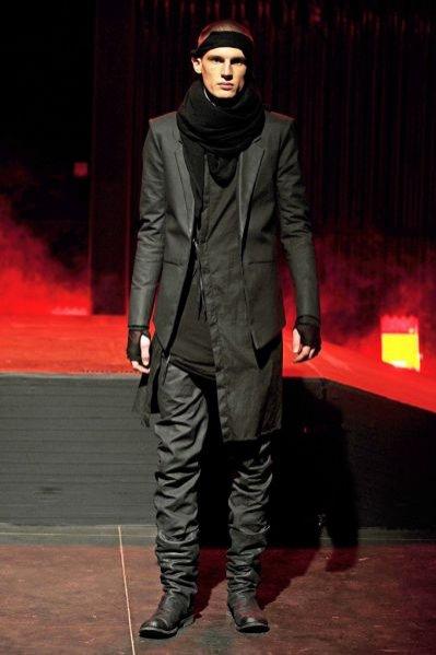 Pokaz kolekcji Boris Bidjan Saberi jesien zima 2011