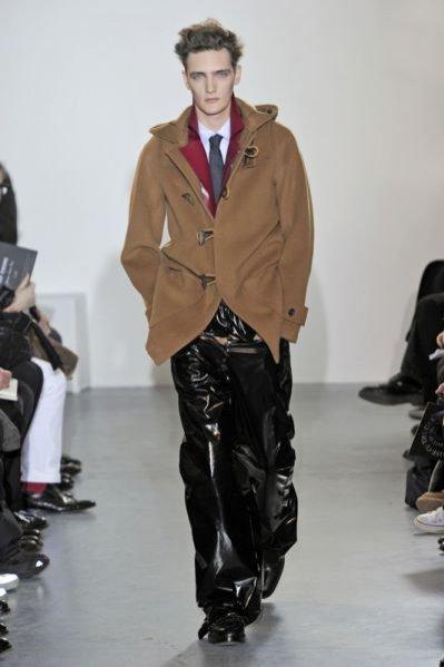 Pokaz męskiej kolekcji Raf Simons jesień zima 2011