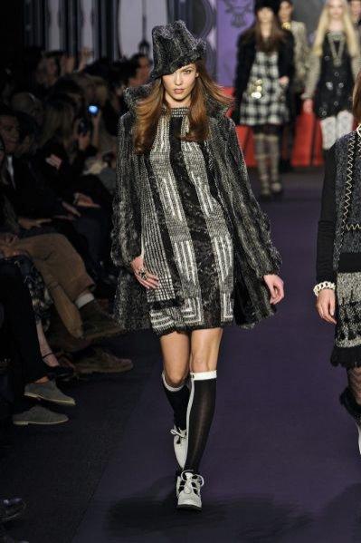 Pokaz kolekcji Anna Sui jesień zima 2011