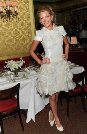 Blake Lively podczas kolacji zorganizowanej przez Chanel