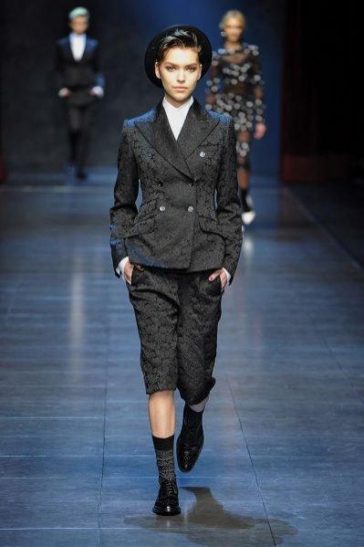 Pokaz kolekcji Dolce&Gabbana jesień-zima 2011/12